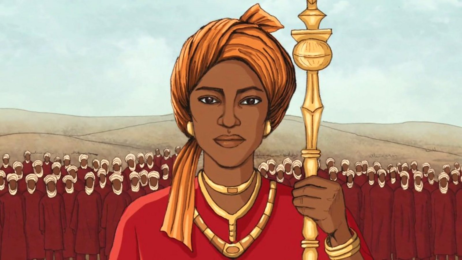 The warrior queen who led men into battle