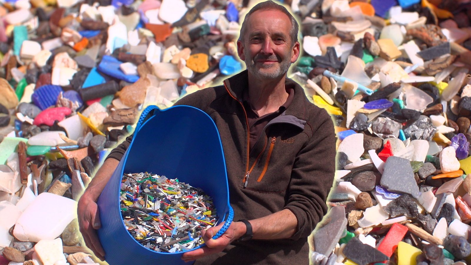 'I found 300 Lego flippers on the beach'
