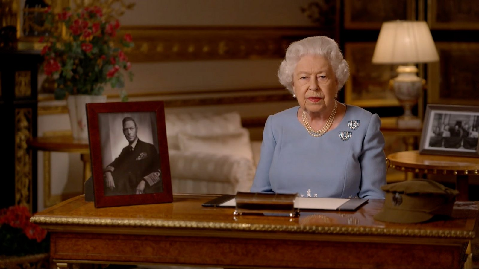 VE Day: The Queen addresses the nation