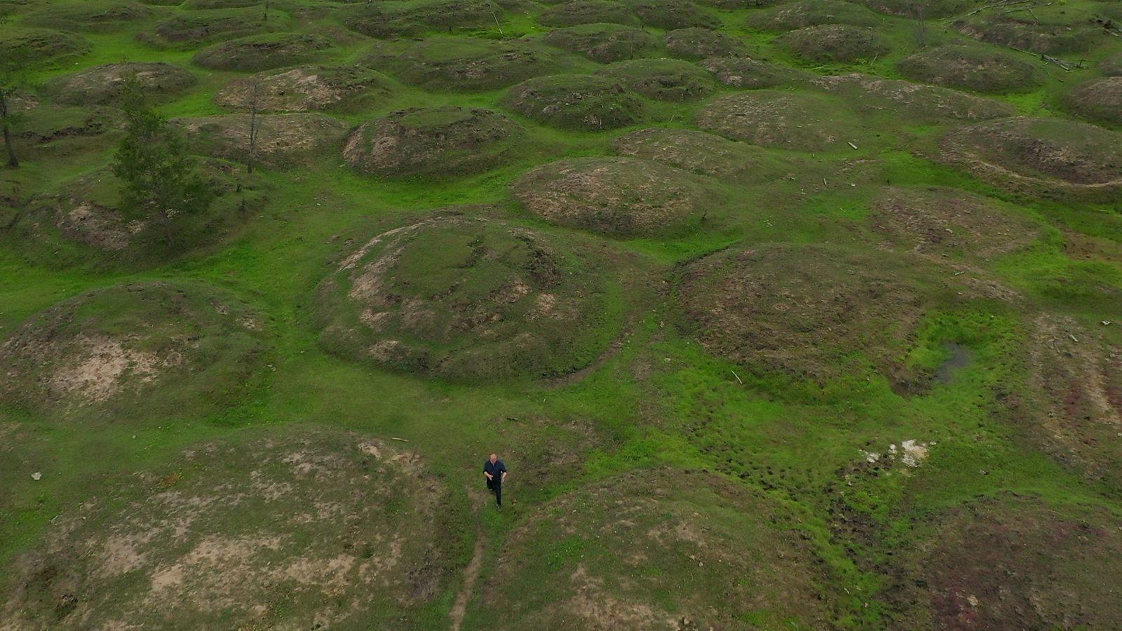 Siberia's bizarre bumps