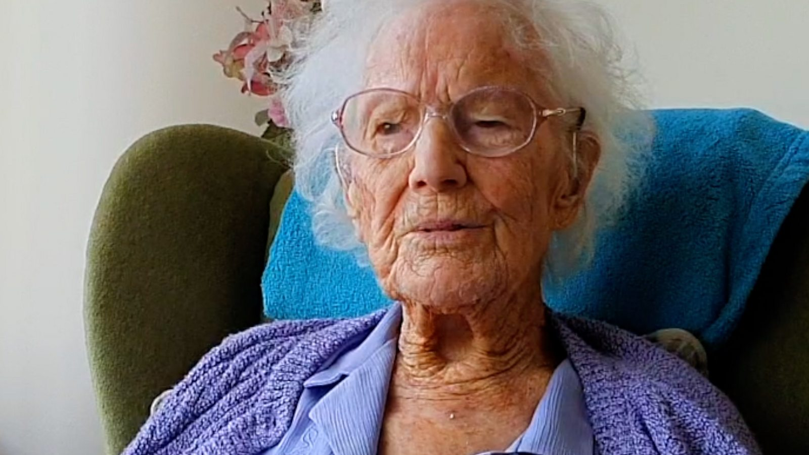 'I'm almost 111 and make the most of what I've got'