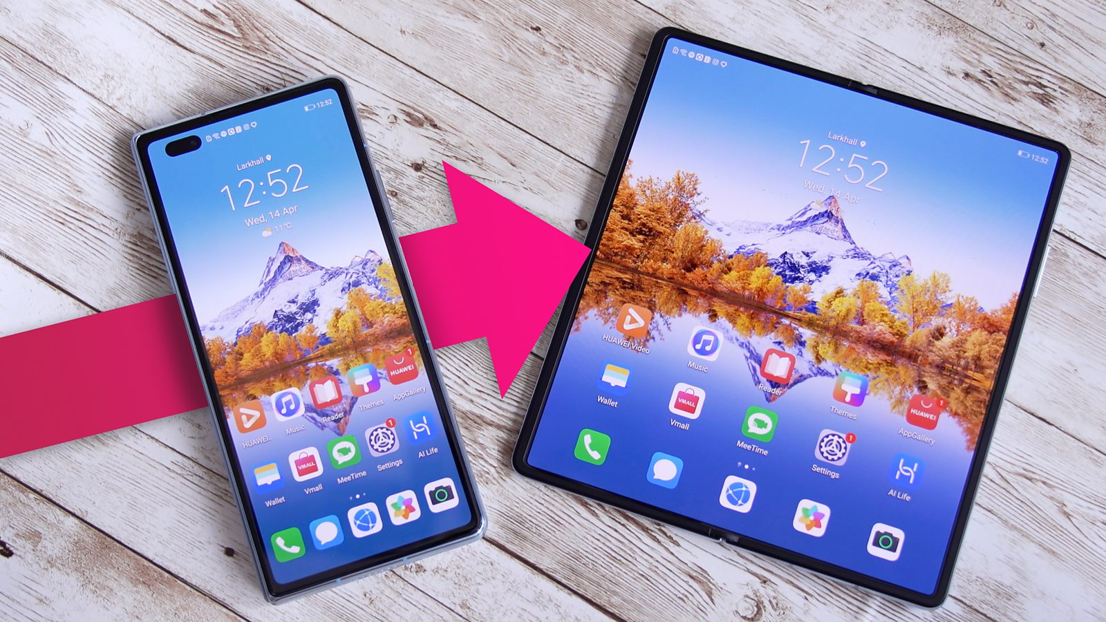 Huawei masters the folding phone formula