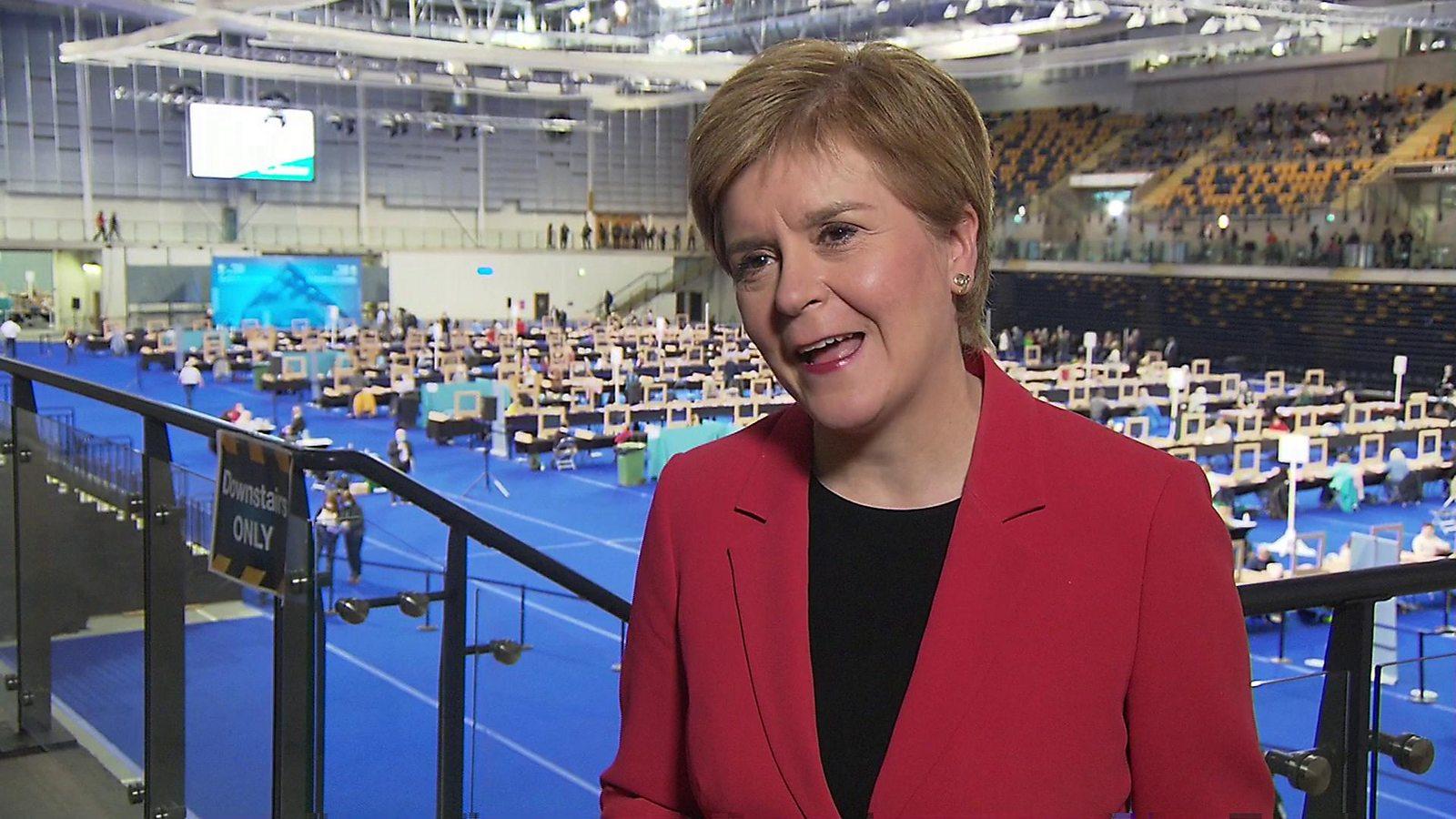Sturgeon: Majority has always been a long shot