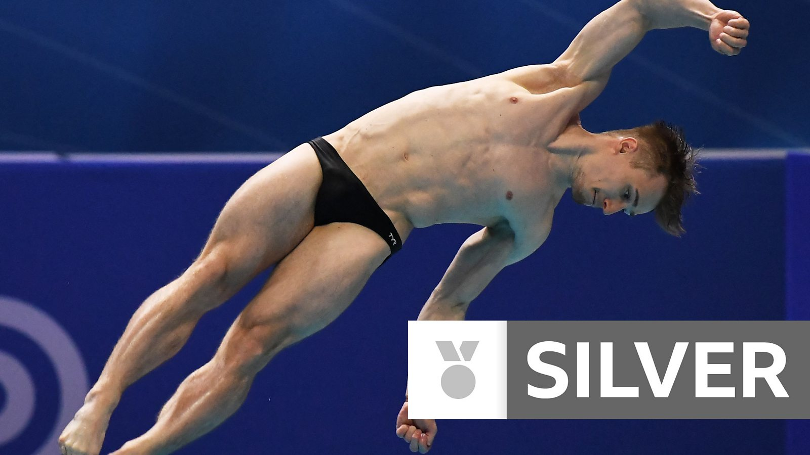 Watch: GB's Laugher wins silver with last dive