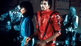 Michael Jackson and Ola Ray in the video for Thriller
