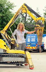 Julie White, Managing Director of D-Drill