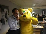 William meets Pudsey