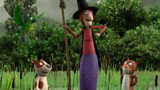 Room on the Broom Characters