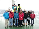 Women scientists aboard the James Cook in the Southern Ocean