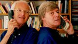 Michael Frayn and longtime collaborator Martin Jarvis