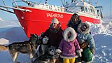 The French family living in the Arctic