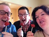 Red Nose Pop Cakes