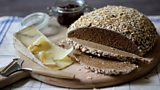 Rye ale and oat bread