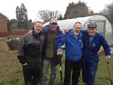 The team from Middlesbrough Environment City transforming wasteland into an urban farm