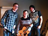 Susan Calman with Drew Sinclair & Stu Webb from Merchant City Music