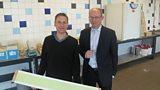 Gareth with Hans Goris of Heijmans