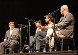 Toby Jones, Amaka Okafor and Mark Ravenhill