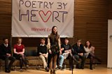The final round of recitations at the Poetry by Heart event