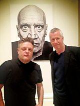 Rankin with John Wilson