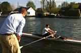 Matt and Julia's rowing challenge