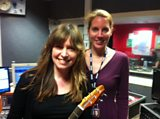Laura with Sarah McQuaid
