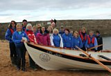 James goes coastal rowing