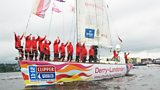 The crew leave Derry for the final leg