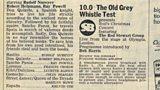 Original Radio Times billing