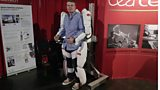 Mike Seymour in a CEA Tech Exoskeleton at SIGGRAPH 2013