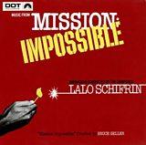 Lalo Schifrin Mission Impossible Album Cover