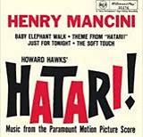 Henry Mancini Hatari Album Cover