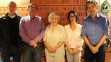 STUDIO PHOTO :: MICHAEL ROSEN, RICHARD, NOREEN RIOLS, SUZY, DAVID NOTT