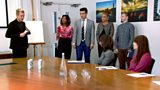 Episode three: The candidates pitch their energy drink pitch