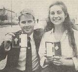 Ronnie Moireach agus Màiri Anna NicUalraig