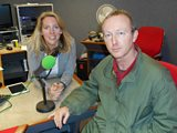 Renowned guitarist Steve Cradock with Laura