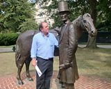 James meets Abraham Lincoln in Washington D.C.
