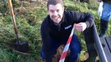 Matt Woodley heads to the middle of Devon to bury the Time Capsule