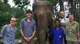Coffee Trail elephant Simon Reeve