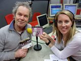 Chris Jagger with Laura