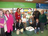 The team at Burnham-On-Sea library