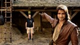 Luke Pasqualino shows the secrets behind the special effects
