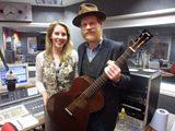 Laura with singer Jarrod Dickenson