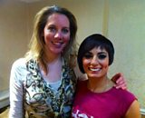 Laura with Flavia Cacace