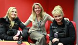 Cheryl Baker and Heidi Range with Laura