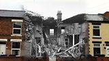 Bomb damage in Burton on Trent