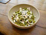Steven Devlin's tagliatelle with spinach