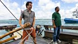 Mark Beaumont and The Queen's Baton Relay