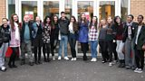 The original Glasgow Girls meet the cast of the new BBC Three drama
