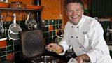 Christopher Trotter's blackcurrant tart
