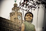 Giant Puppets return to Liverpool